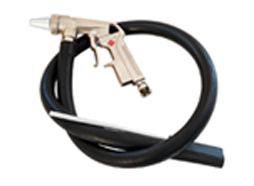 Straalgritpistool slangaanzuig