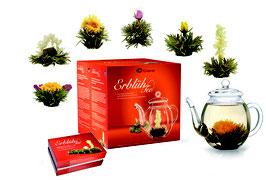 """ErblühTee Geschenkset """"Weisser Tee"""""""