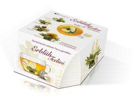 "8er ErblühTeelini Box ""Weisser Tee"""