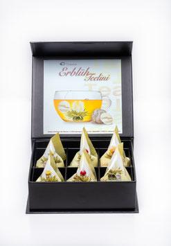 "6er Magnetbox ErblühTeelini ""Weisser Tee"""