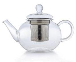 Teekanne flach 0.8 l