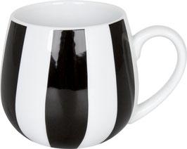 Kuschelbecher BLACK & WHITE STRIPES