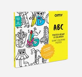 Poster ABC - odkrijte abecedo