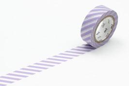 Washi lepilni trak - stripe lilac