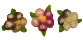Broška, v obliki rožice