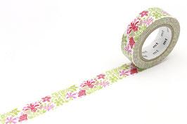 Washi lepilni trak - bengt & lotta - alma pink