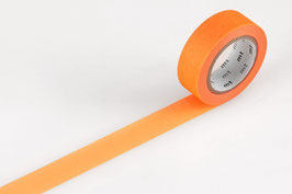 Washi lepilni trak - shocking orange