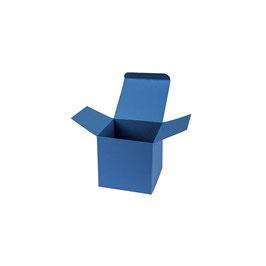 Darilna škatlica - Cube S - v temno modri barvi / saphire