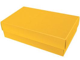 Darilna škatlica - velikost L v živo rumeni barvi