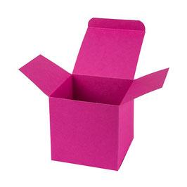Darilna škatlica - Cube M - v barvi magenta
