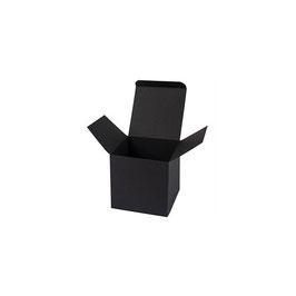 Darilna škatlica - Cube S - v črni barvi