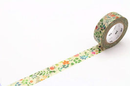 Washi lepilni trak - watercolor flower
