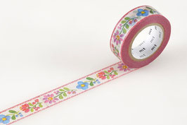 Washi lepilni trak - embroidery / vezenje