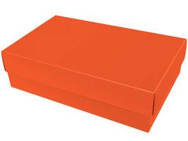 Darilna škatlica - velikost XL v oranžni barvi