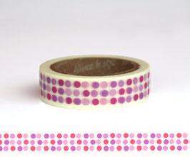 Washi lepilni trak - Dots and Lines