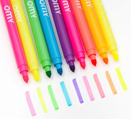 Neon barvni pralni flomastri