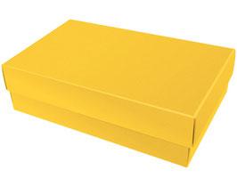 Darilna škatlica - velikost XL v rumeni barvi