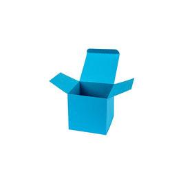 Darilna škatlica - Cube S - v modri barvi / atlantic