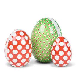 Velikonočna jajčka - pirhi / rdeča-zelena