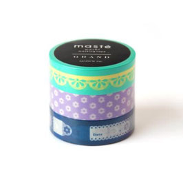 Set washi lepilnih trakov - Photo deco / Mint