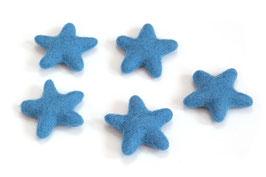 Set 5 zvezdic iz filca