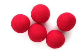 Set 5 velikih barvnih kroglic iz filca