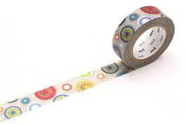 Washi lepilni trak - Passementarie button
