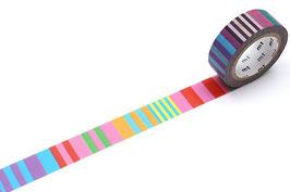 Washi lepilni trak - Kapitza Polka Dot Stripe