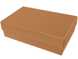Darilna škatlica - velikost L v svetlo rjavi barvi