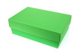 Darilna škatlica - velikost M v temno zeleni barvi mint
