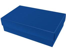 Darilna škatlica - velikost L v temno modri barvi saphire