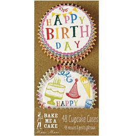 Papirčki za mafine - Happy birthday