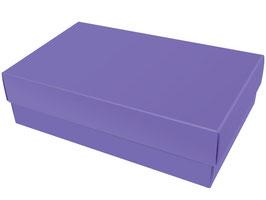 Darilna škatlica - velikost XL v vijolični  barvi