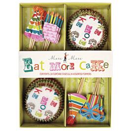 Paket za okrasitev mafinov - Eat More Cake