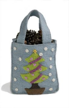 Otroška torba z zimskim motivom