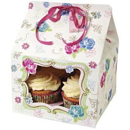 Darilna škatla v obliki hišice - Lita large cupcake box