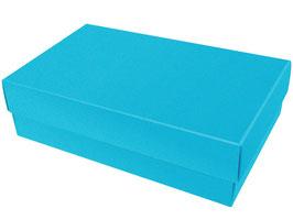 Darilna škatlica - velikost L v modri barvi atlantic