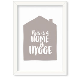 "Grafika ""Home of Hygge"""