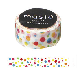 Washi lepilni trak - Colorful Dot