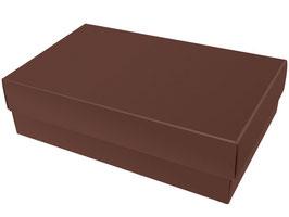 Darilna škatlica - velikost XL v temno rjavi barvi