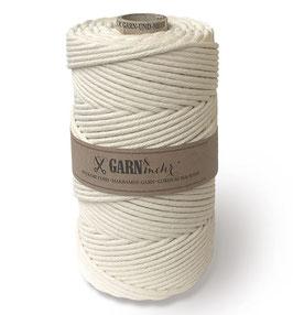 Dekorativna vrvica za makrame - naravno bela, 100 m