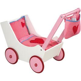 Otroški voziček - igrača - s torbico in stekleničko