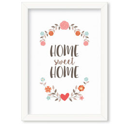 "Grafika ""Home Sweet Home"""