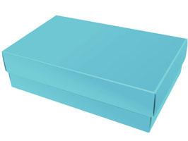 Darilna škatlica - velikost XL v svetlo modri barvi azure