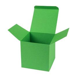 Darilna škatlica - Cube M - v svetlo zeleni barvi (apple)