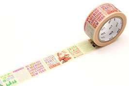 Washi lepilni trak - Christmas News