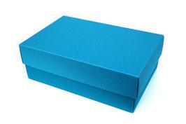 Darilna škatlica - velikost M v modri barvi atlantic