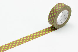 Washi lepilni trak - dot kiwi