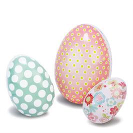 Velikonočna jajčka - pirhi / cvetlični vzorček
