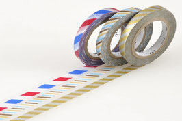 Set washi lepilnih trakov - Slim twist cord C
